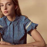 Sandro Short-sleeved shirt with bead details