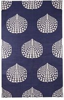 Madeline Weinrib Song Cotton Canvas Carpet-BLUE