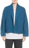 Eileen Fisher Boiled Wool Kimono Jacket (Regular & Petite)
