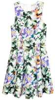 H&M Patterned Dress - White/floral - Ladies