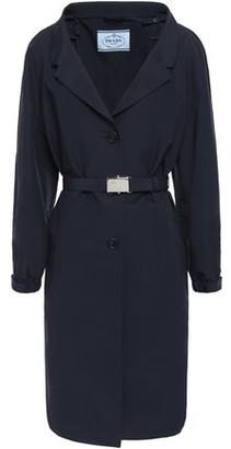 Prada Belted Cotton-blend Coat
