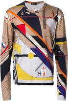 Versace crew neck sweater - men - Wool - 50