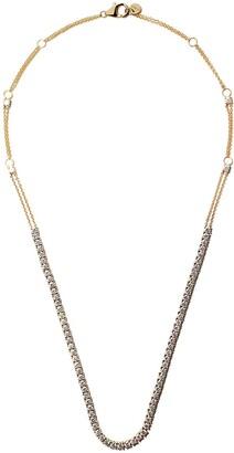 Riviera 18kt yellow gold diamond necklace