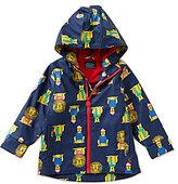 Joules Big Boys Lion-Print Rain Coat