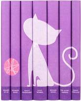 Juniper Books Classic Girls Book Set in Purple Cat Jackets (Set of 7)