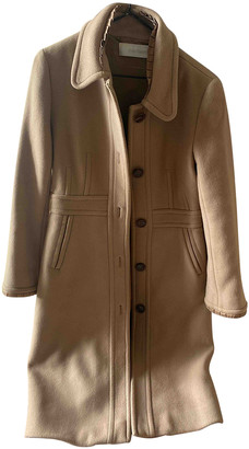 Cacharel Camel Wool Coats
