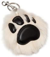 Stella McCartney Paw Key Ring Fur