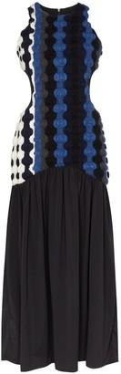 Markoo Fancy wool cut-out long dress