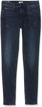 Tommy Jeans Women's MID RISE SKINNY NORA HKDK Straight Jeans
