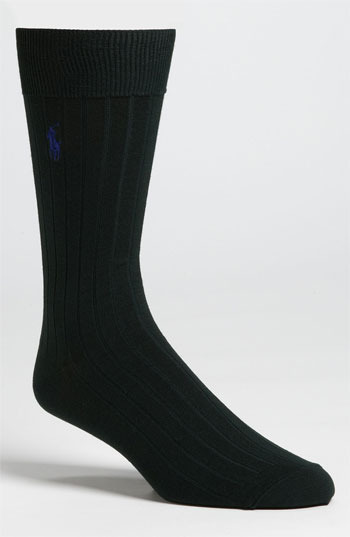Polo Ralph Lauren Rib Knit Cotton Socks