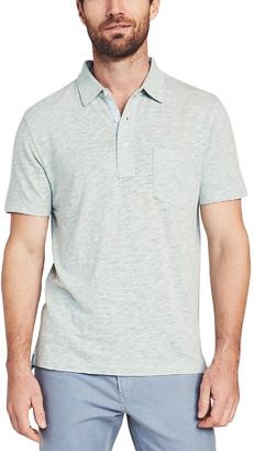 Faherty Heather Polo Shirt
