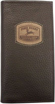 John Deere Leather Checkbook Wallet