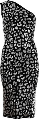 Michael Kors Silver Leopard Dress