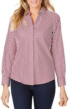 Foxcroft Mona Striped Non-Iron Shirt