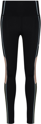 P.E Nation Fast Lane colour-block leggings