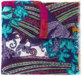 Etro paisley print scarf - men - Linen/Flax - One Size