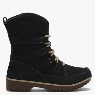 Sorel Meadow Lace Premium Black Suede Winter Boots