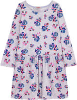 Cath Kidston Geo Rose Junior Drop Waist Jersey Dress