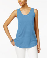 Style&Co. Style & Co Striped Tank Top, Only at Macy's
