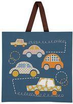 Living Textiles Baby Bot Bumper Cars Canvas Art