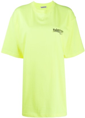 Balenciaga short-sleeve large fit T-shirt