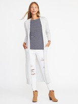 Old Navy Open-Front Extra-Long Sweater for Women