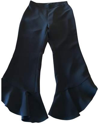 No Name Black Trousers for Women