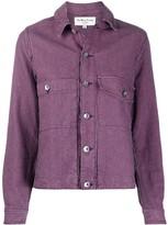 YMC Stripe Print Shirt Jacket