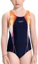 Perfashion Kids Girls' Sports Muscleback Swim Suit