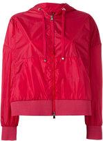 Moncler Comte cropped jacket - women - Polyamide - 0