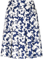 Marc Jacobs floral embroidered skirt - women - Silk - 2