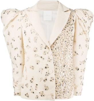 Loulou Crystal Embellished Blazer