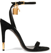 Tom Ford Suede Sandals - Black