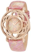 Brillier Women's 04-31325-07 Papillon Swiss-Quartz Mother-Of-Pearl Watch