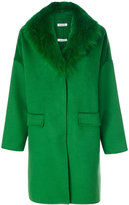 P.A.R.O.S.H. Lover coat - women - Fox Fur/Polyester/Wool - XS