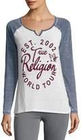 True Religion Women's Script Graphic Tee