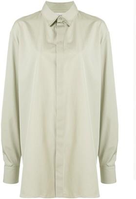 Rochas Long-Line Shirt