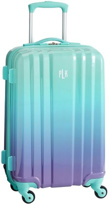 Pottery Barn Teen Channeled Hard-Sided Ombre Carry-on Spinner