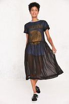 Kimchi & Blue Kimchi Blue Sparrow Sheer Drop-Waist Midi Dress