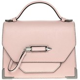 Mackage Keeley Structured Leather Shoulder Bag In Petal
