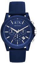 Armani Exchange AX1327 Nylon and Silicone Watch