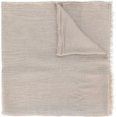 Faliero Sarti woven scarf - men - Silk/Modal - One Size