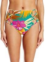 Volcom Women's Hot Tropic Retro Bikini Bottom