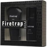Firetrap Mens 150ml Body Wash And 150ml Body Spray Duo Set Black
