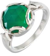 Heather Hawkins Persephone Ring In Green Onyx