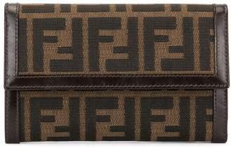 Zucca Pattern Trifold Wallet