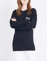 Stussy Harumi Yamaguchi Raft cotton-jersey T-shirt