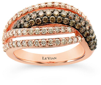 LeVian Le Vian 14K Strawberry Gold 1.36 Ct. Tw. Diamond Ring