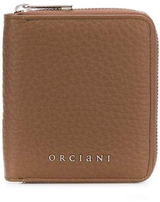 Orciani zip-around wallet
