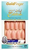 Kiss Gold Finger Limited Edition 24 False Nails GF07X Matte Baby Pink Stiletto Style